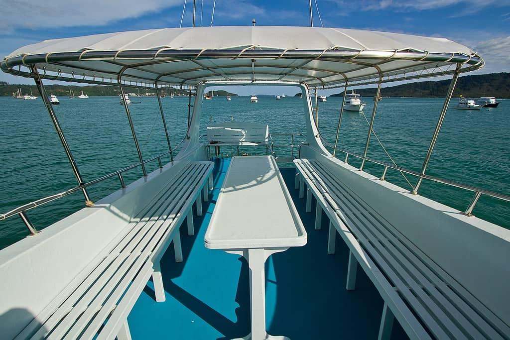 Phuket Fishing Boat - Upper deck