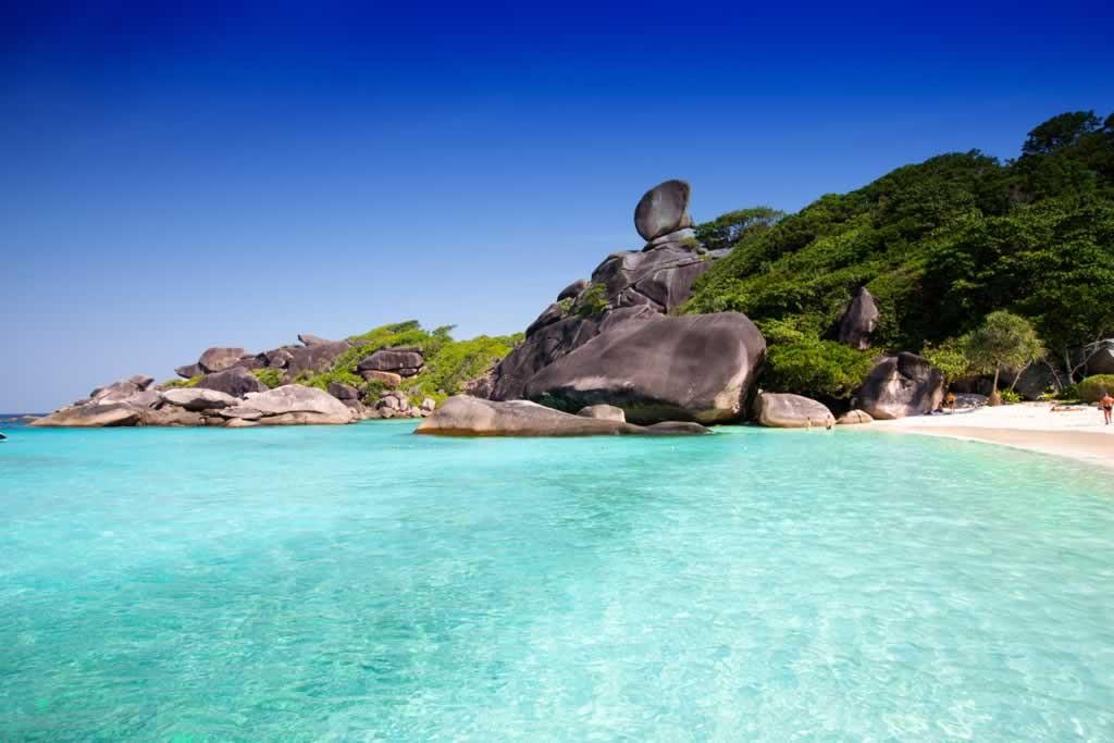 Similan Islands - Donald Duck Rock