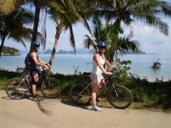 Cycling on an tropical island with Phuket Biking Tours to Koh Yao Noi