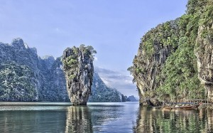 James Bond Island - Image taken on a Private Phang Nga Bay Tour