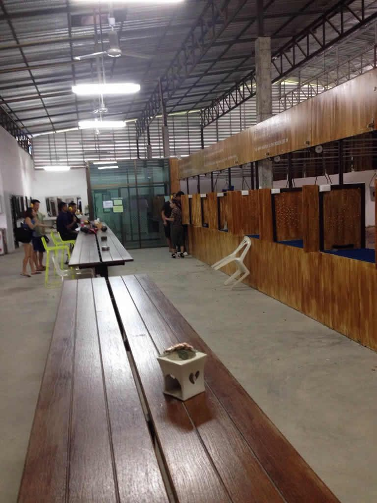 Kathu Shooting Range Phuket Island - Lounge area