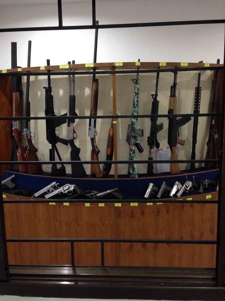 Kathu Shooting Range Phuket Island - Weapons