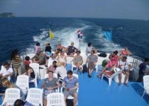 Phi Phi Island Fähre Ausflug