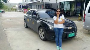 Ann - Female Taxi Drivers at Easy Day Thailand