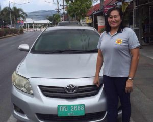 Ying - Female Driver at Easy Day Thailand