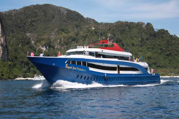 To Phi Phi Island with Royal Jet Cruise
