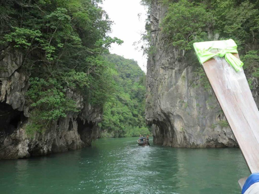 Koh Hong Lagunen  Eingang