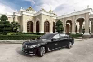 Phuket Limousine - BMW740-Li-exterior