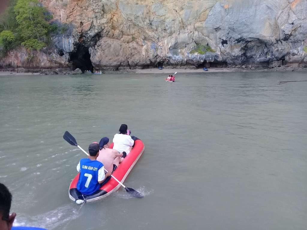 Sea canoe in der Phang Nga Bay
