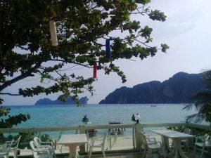 Phi Phi Bay View Resort - View from Restaurant