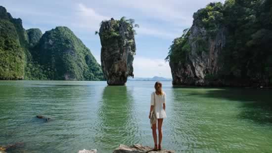 James Bond Island the Highlight of Phang Nga Bay, Thailand