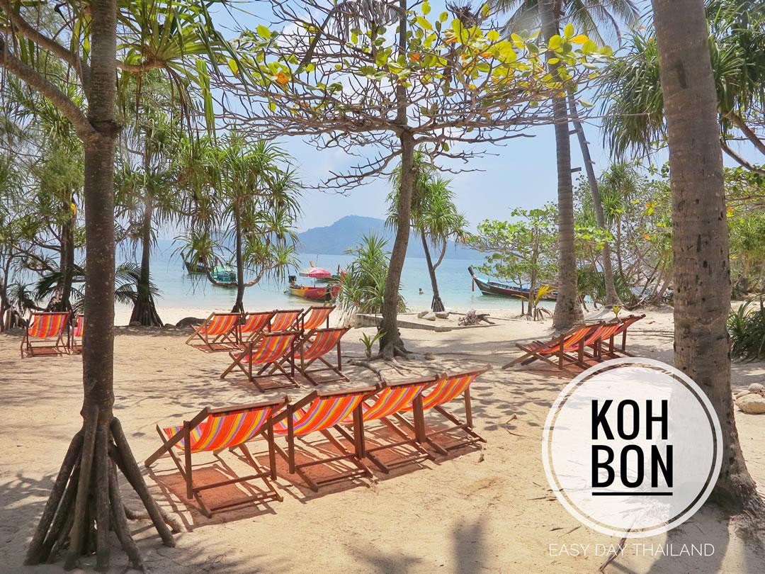 Koh Bon Island near Phuket, Thailand