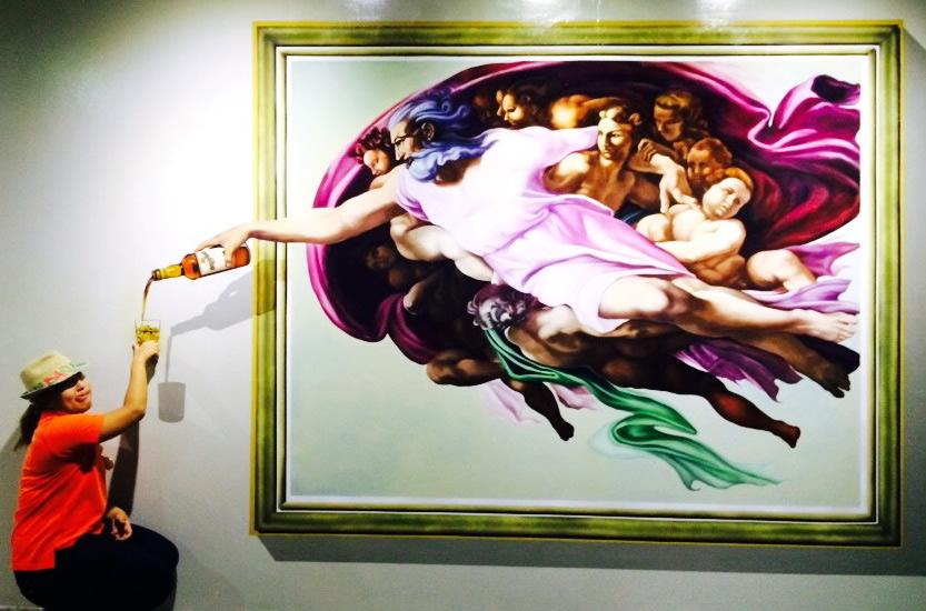 Phuket Trickeye Museum - Michael Angelo