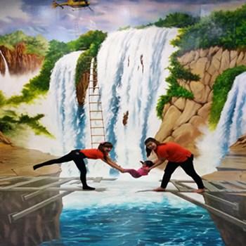 Phuket Trickeye Museum Waterfall
