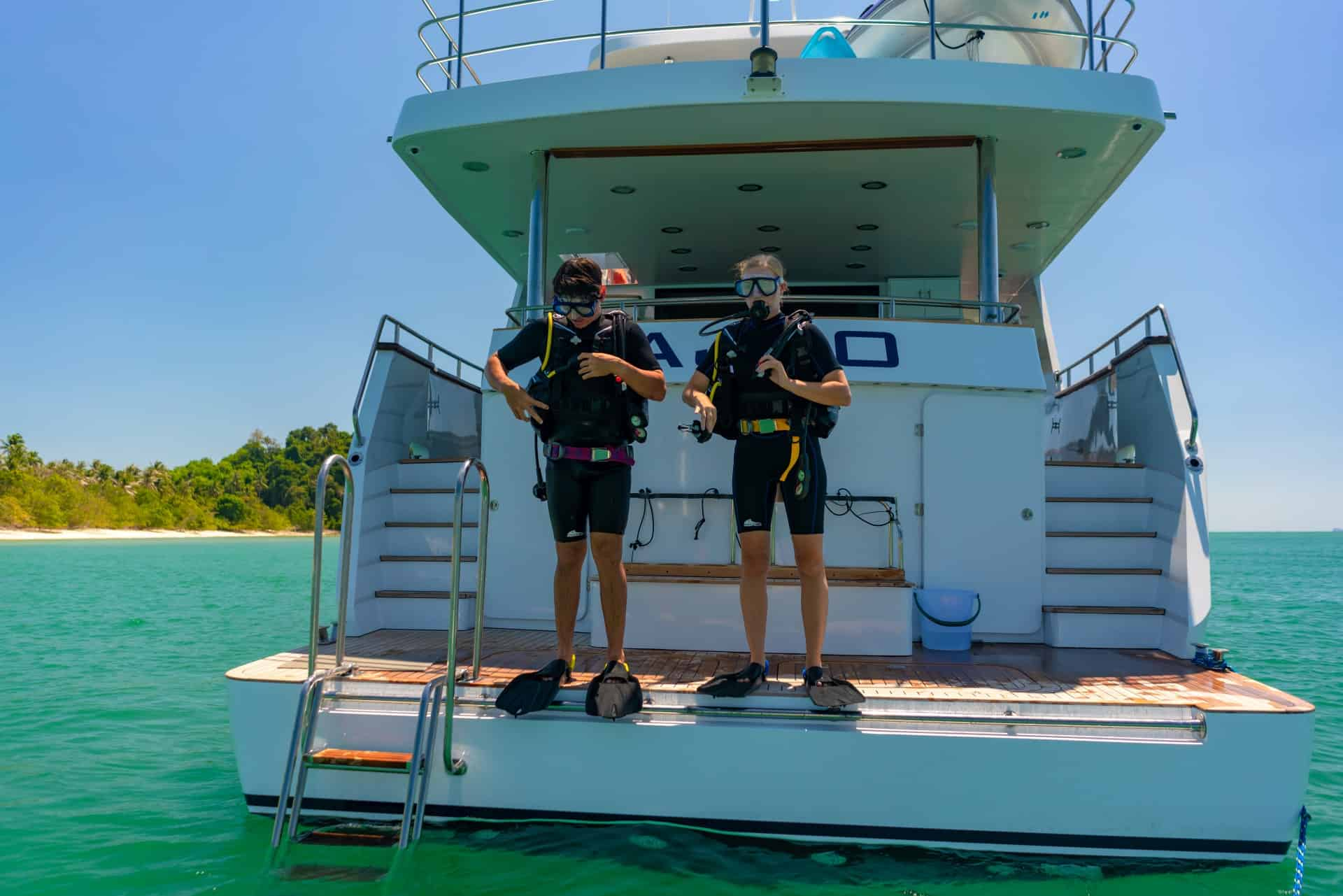 Scuba Diving with Ajao
