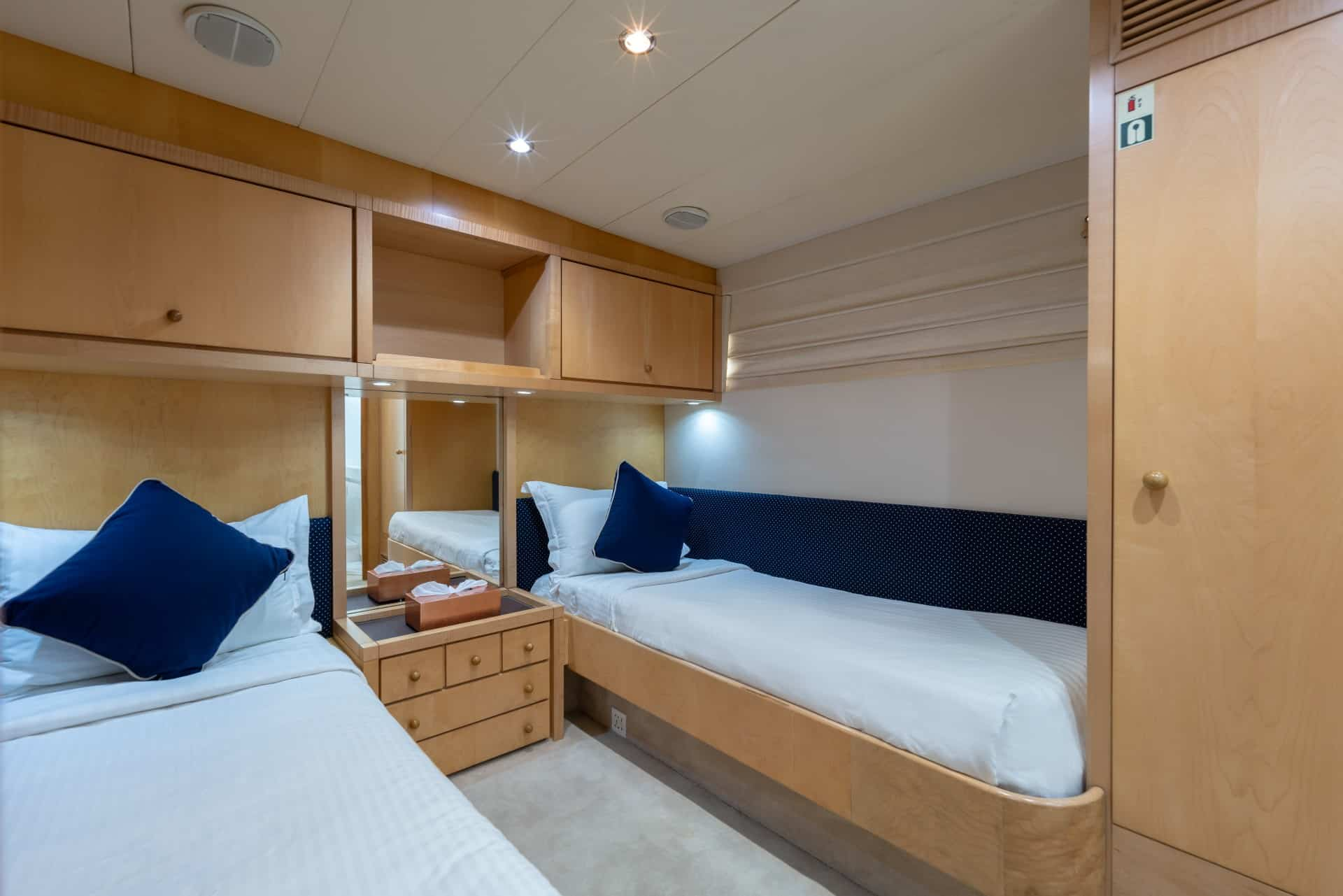 Ajao Twin Bed Cabin